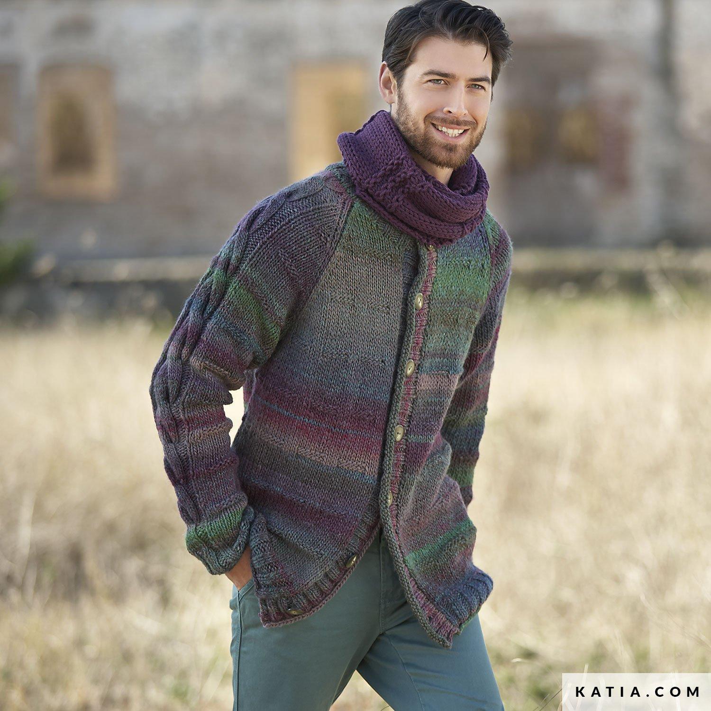 Jacket - Man - Autumn   Winter - models   patterns  db4a222d3