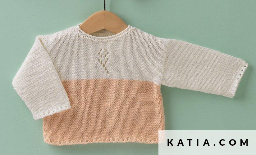Pullover - Baby - Herbst / Winter - Modelle & Anleitungen | Katia.com