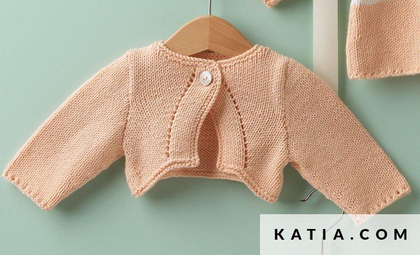 Chaqueta - Bebé - Primavera / Verano - patrones | Katia.com