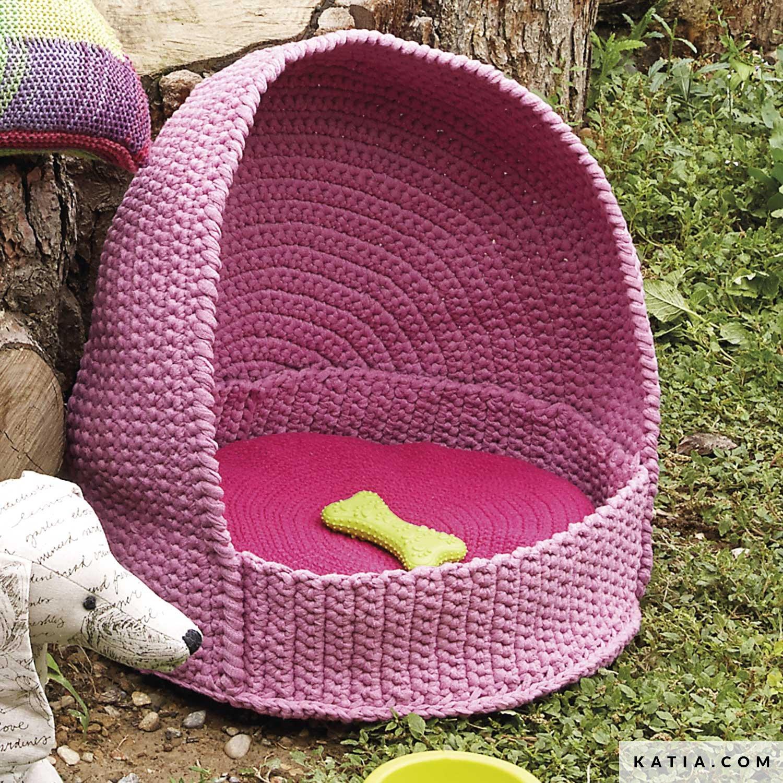 Pet Basket Home Spring Summer Models Patterns Katia