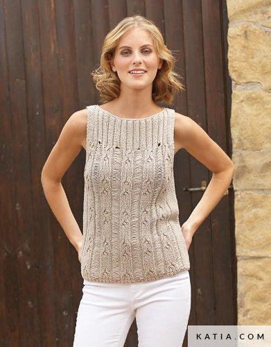 Top Woman Spring Summer Models Patterns Katia