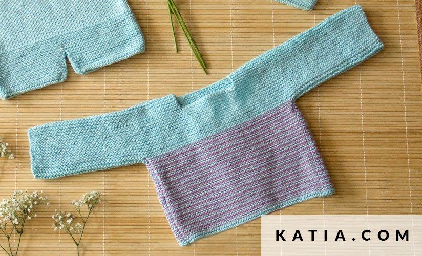 Pullover - Baby - Frühjahr / Sommer - Modelle & Anleitungen | Katia.com
