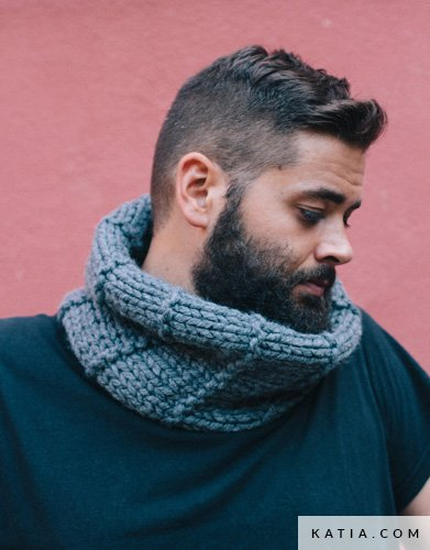 Cuello - Hombre - Otoño / Invierno - patrones   Katia.com