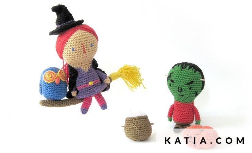Amigurumi - Celebraciones - Primavera / Verano - patrones | Katia.com