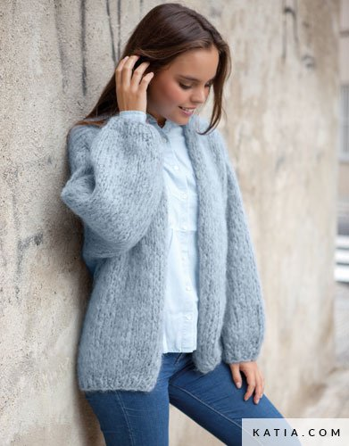 Jacke stricken | Wunderweib