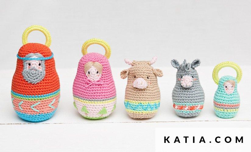 Amigurumi - Celebraciones - Otoño / Invierno - patrones | Katia.com