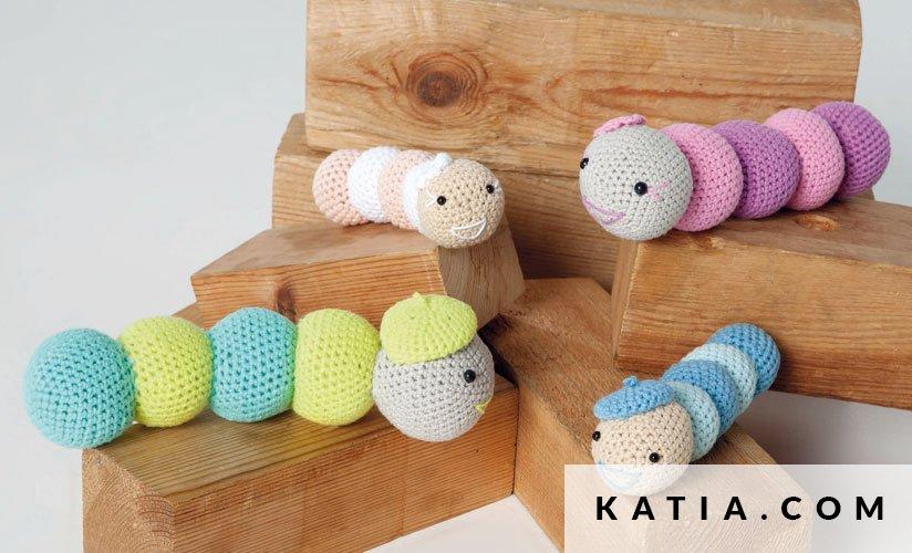 Amigurumi Baby Lente Zomer Modellen Patronen Katiacom