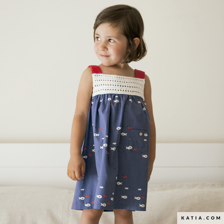 Vestido - Niños - Primavera / Verano - patrones | Katia.com