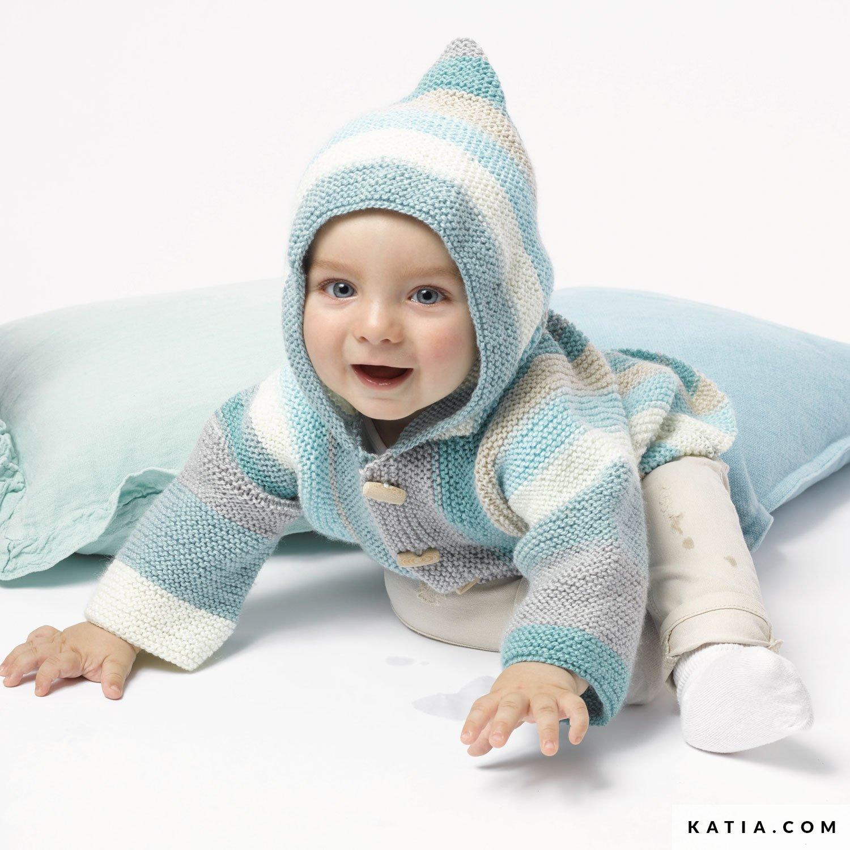 Chaqueta - Bebé - Otoño / Invierno - patrones   Katia.com
