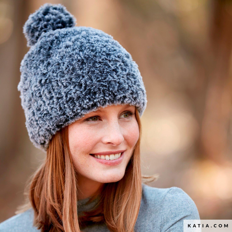 modele tricot bonnet femme gratuit katia