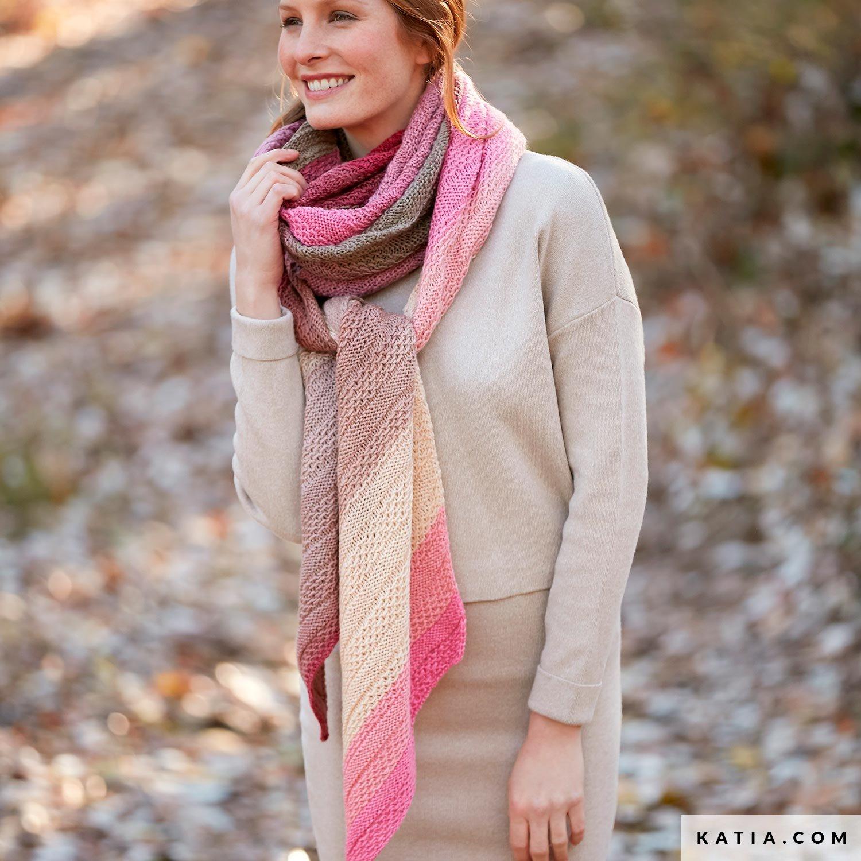 Sjaal Dames Herfst Winter Modellen Patronen Katiacom