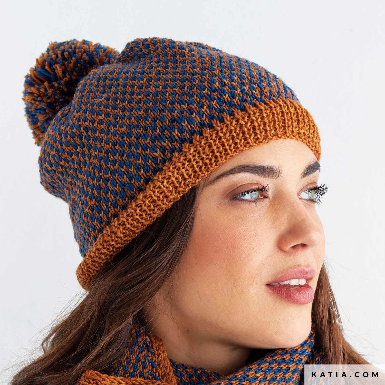 Wonderlijk Muts - Dames - Herfst / Winter - modellen & patronen | Katia.com XL-81