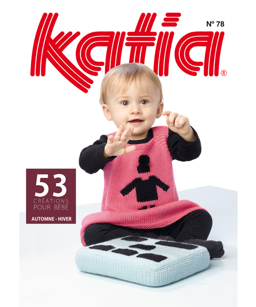baby tijdschrift van Herfst / Winter van Katia